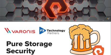 Data Security Happy Hour: Varonis, Pure Storage, & F3 Technology tickets