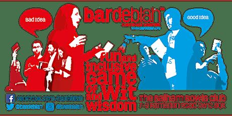 bardeblah Thursday 16th January tickets