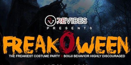 Freakoween tickets