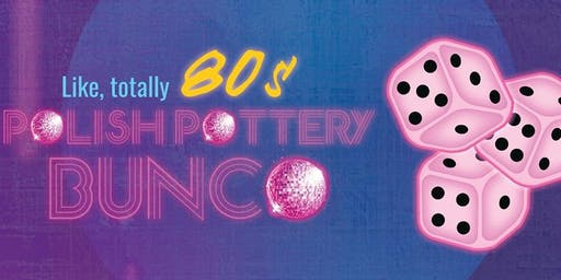 Like Totally 80's Bunco November Luncheon