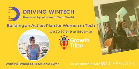 Driving WinTech: Building an Action Plan for Women in Tech tickets