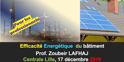 Formation professionnelle: efficacité énergétique du bâtiment