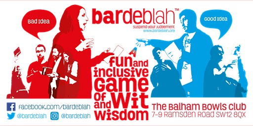 bardeblah Thursday 12th March