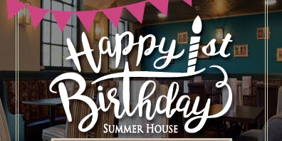 VIP Party Summer House 1st Birthday
