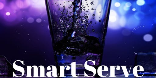 SMART SERVE Responsible Alcohol Beverage Sales and Service - October 29, 2019