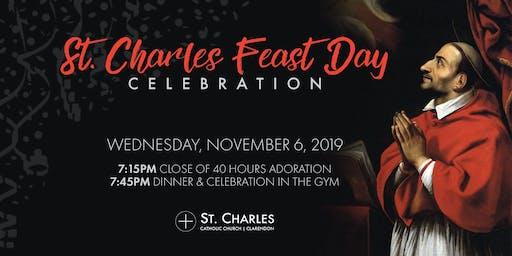 St. Charles Feast Day Celebration 2019