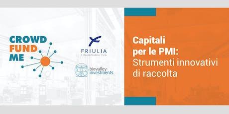 Capitali per le PMI: Strumenti innovativi di raccolta - Pordenone biglietti
