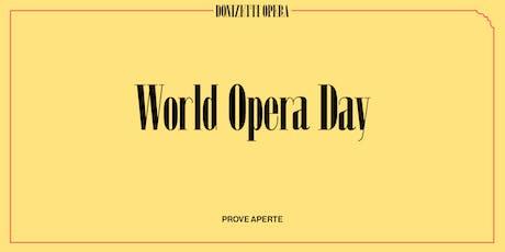 World Opera Day - Lucrezia Borgia prove aperte biglietti
