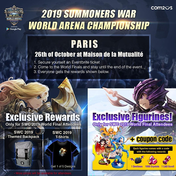 Summoners War World Arena Championship 2019 -  World Finals image