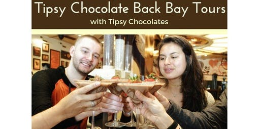 Tipsy Chocolate Back Bay Tour (2020-05-09 starts at 12:30 PM)