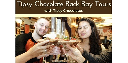 Tipsy Chocolate Back Bay Tour (04-04-2020 starts at 12:30 PM)