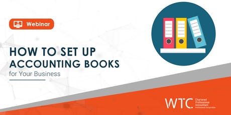 How to Set Up Accounting Books for Your Business tickets