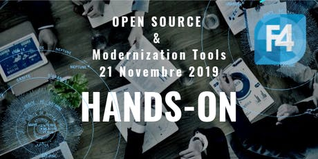 HANDS-ON: OPEN SOURCE & Modernization Tools biglietti