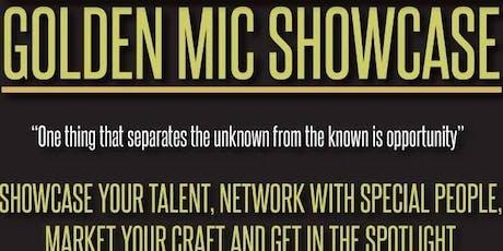 Golden Mic Showcase  tickets
