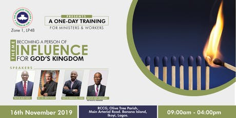 BECOMING A PERSON OF INFLUENCE FOR GOD'S KINGDOM tickets