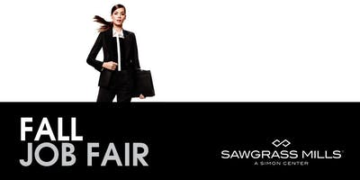 Mega Retail Fall Job Fair @ Sawgrass Mills Mall