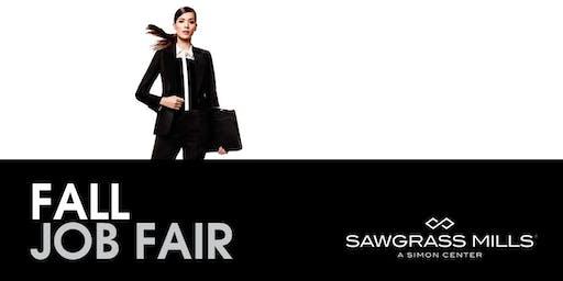 Mega Retail Fall Job Fair @ Sawgrass Mills Mall