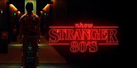 STRANGER 80's HALLOWEEN PRIVATE PARTY - AmaMi Communication biglietti