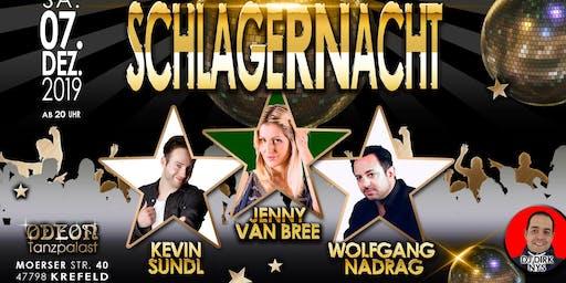 Schlagernacht Tanzpalast Odeon Krefeld 07.12.2019