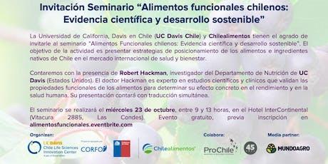 Alimentos funcionales chilenos Evidencia científica y desarrollo sostenible entradas