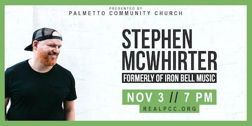 Stephen McWhirter Live