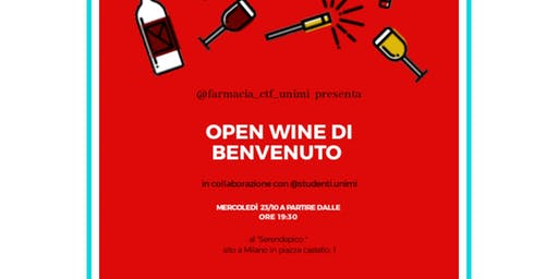 Open Wine Farmacia Ctf Unimi