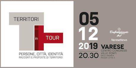 Territori in tour Varese - Riflessioni e proposte biglietti