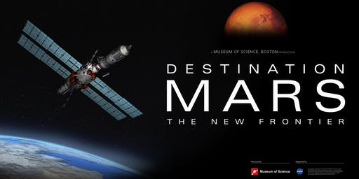 Saturdays at the Planetarium - Destination Mars: the New Frontier