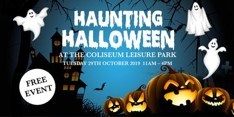 Haunting Halloween at the Coliseum tickets