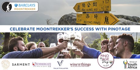 CELEBRATE MOONTREKKER'S SUCCESS WITH PINOTAGE tickets