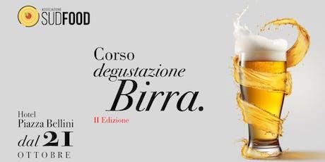 Corso Degustazione Birra - II edizione Napoli biglietti