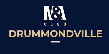 M&A Club Drummondville : Réunion du 29 janvier 2020 / Meeting January 29, 2020 billets
