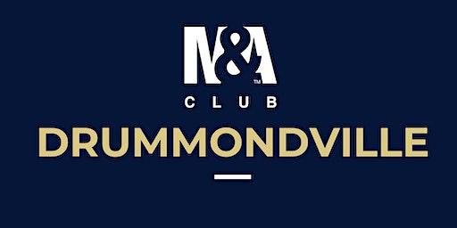 M&A Club Drummondville : Réunion du 29 janvier 2020 / Meeting January 29, 2020