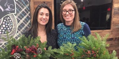 Holiday Wreaths at Harvest Thyme with Alice's Table