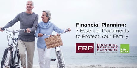 Financial Planning Event: 7 Documents Your Family Needs tickets