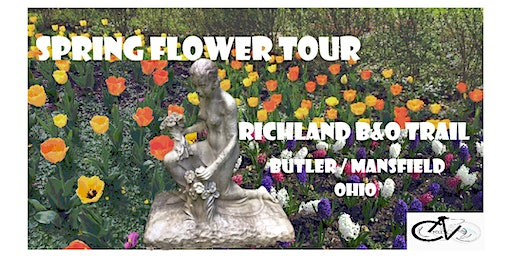Spring Flower Tour - LoST on the Richland B&O Trail - Butler / Mansfield OH