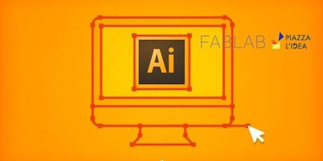 Corso base su Adobe Illustrator biglietti