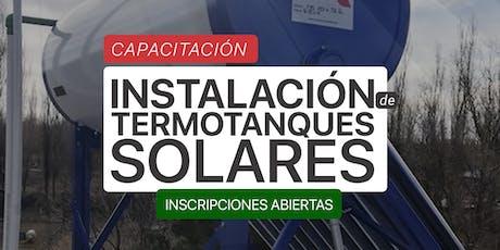 Instalación de Termotanques Solares entradas