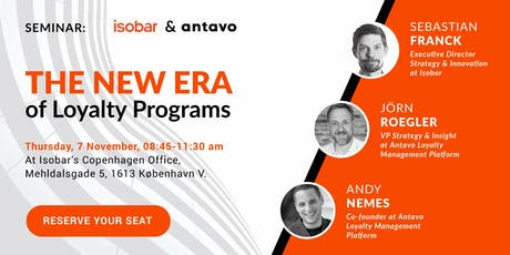 [Seminar] The New Era of Loyalty Programs tickets