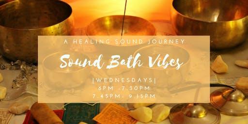 Sound Bath - A vibrational journey