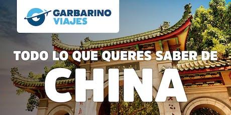 Ciclo de Charlas: Bienvenidos a Bordo - Especial CHINA entradas