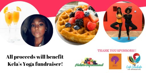 Yoga & Bottomless Mimosa FUNDRAISER with Brunch!