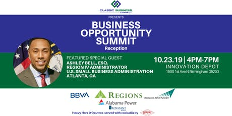 Business Opportunity Summit Reception tickets