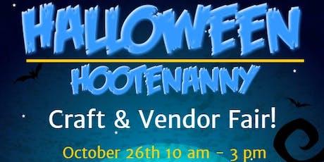 Halloween Hootenanny Craft & Vendor Fair tickets