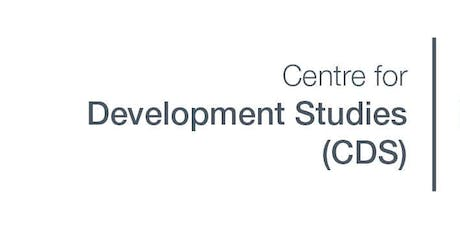Global Challenges Research Fund (GCRF) seminar hosted by CDS tickets