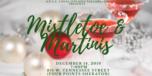 Mistletoe & Martinis Christmas Party