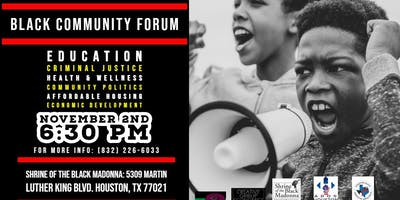 Black Community Forum