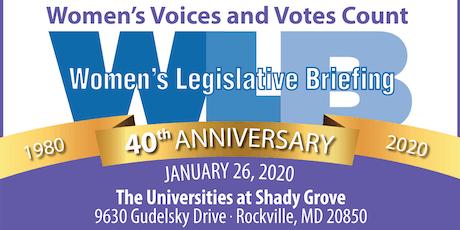2020 Women's Legislative Briefing tickets