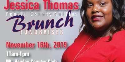 Brunch with Jessica Thomas Peoria County Auditor