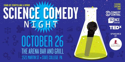 Science Comedy Night comes to State College!